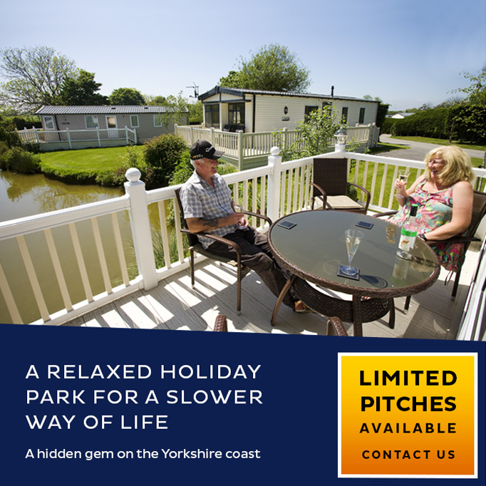 A relaxed holiday park for a slower way of life. A hidden gem on the Yorkshire coast. Limited pitches available, contact us.