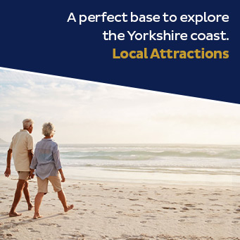A perfect base to explore the Yorkshire coast. Local Attractions.